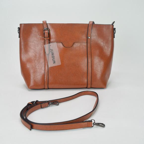 JUNDUN Women Bag Casual Vintage Shoulder Tote Bag 94b1c0723b355